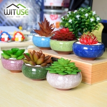 wituse 1pc planters ceramic flower pots plant pots bonsai cute kawaii animal for succulents planters garden