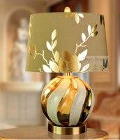 European Style Living Room Lamp Bedroom Bedside Lamp Wedding Decoration Ideas Ceramic Den American Luxury Mediterranean