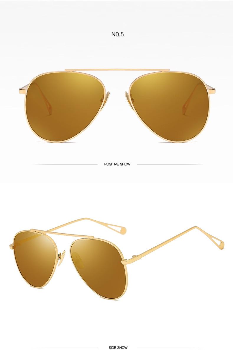 Piloto Retro Senhora de óculos de Sol