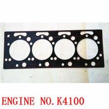 2 шт., для weifang Ricardo K4100D K4100ZD K4100P прокладка дизельного двигателя/прокладка головки блока цилиндров