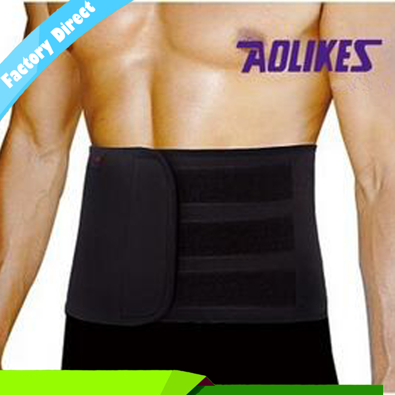 Adjustable Slimming Belt For Women & Men Sports Waist Support Neoprene Safety Gym Belt B ...
