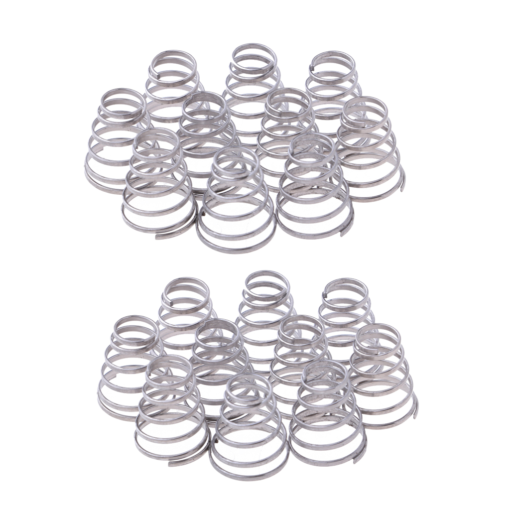 MagiDeal 20pcs Replacement Springs Bike Wheel Skewer Quick Release Spring