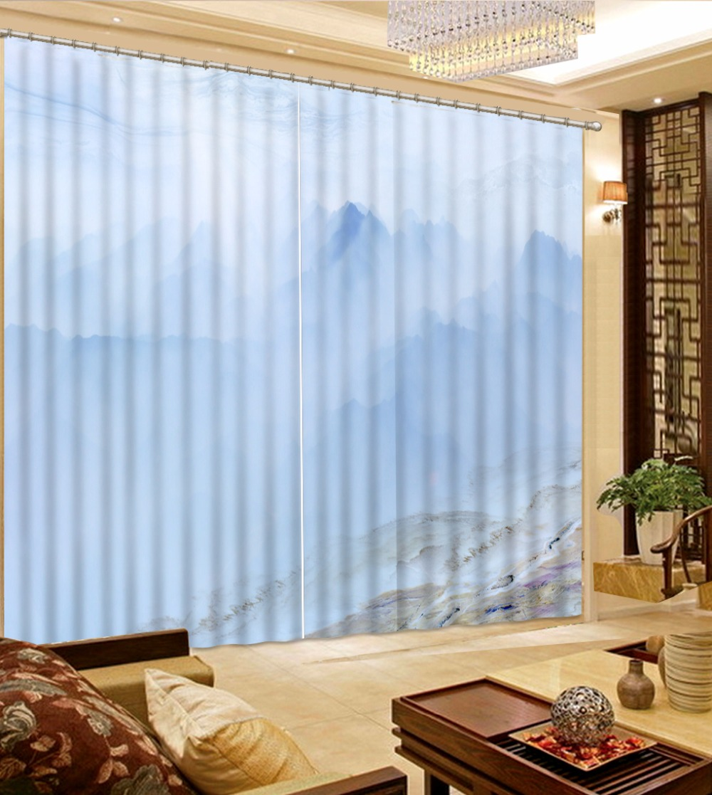 High Quality curtains for bedroom Customize marble landscape 3d curtains Used for Any room windowHigh Quality curtains for bedroom Customize marble landscape 3d curtains Used for Any room window