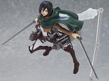 Attack on Titan 15cm Mikasa Ackerman Action Figure PVC Doll Toy #203