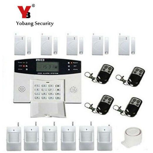 YobangSecurity Wireless Home GSM SMS Security Burglar font b Alarm b font font b Kit b