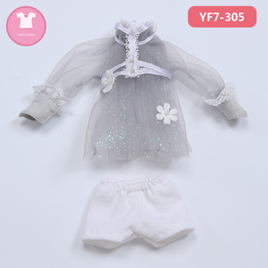 Image 3 - Doll BJD Clothes 1/7 Cute Suit Doll Clothes For FL Realfee Soso Body Doll accessories Fairyland luodoll
