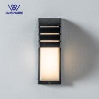 VW waterdichte LED outdoor wandlamp 6 W opbouw aluminium LED Wandlamp voor outdoor wandlampen ingang 100-240 V armatuur