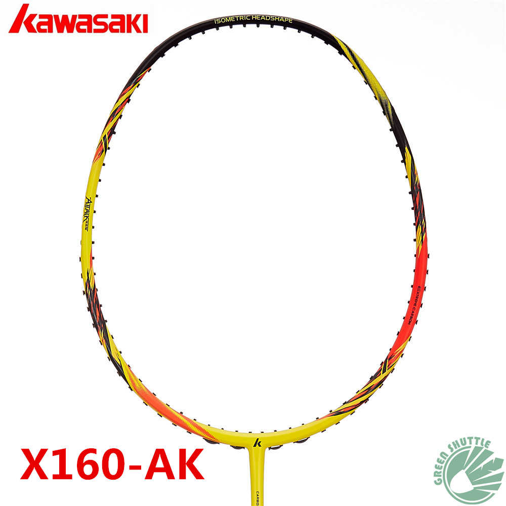 2018 New Genuine Kawasaki Full Carbon Badminton Racket  Best Buys Raquette Badminton With Free Gift Half-Star