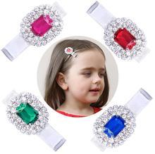 Luxurious boutique Hairpin Sparkling Gem Hair Clips Diamond Crystal Hair Grips for Girls toddler Hair Accessories headdress J51