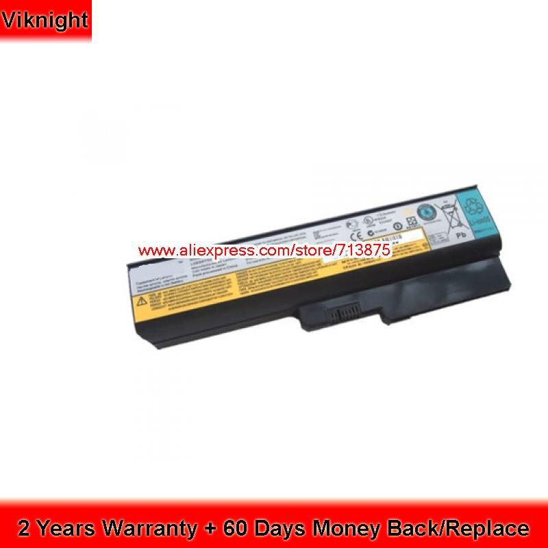 Véritable L08L6Y02 batterie d'ordinateur portable pour Lenovo G430 G550 G430A G450 L3000 08O6C02 42T4585 42T4586 11.1 V 48Wh
