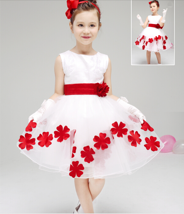 ФОТО Free shipping Girls Pageant Dresses Ball Gown Stage Performance Long Dress Princess Party Dress Flower Girls Dresses For Wedding