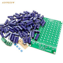HP-O-S.CAP 84pcs 330uf 63V Low Impedance Amplifier Power supply array DIY Kit