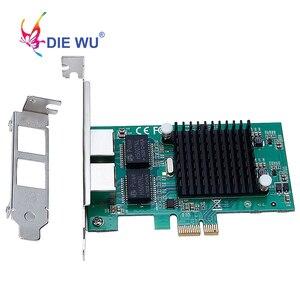 Image 4 - Intel82575 כפולה יציאת RJ45 נמל NIC 10/100/1000 Gigabit PCI Express pcie x1 רשת שרת מתאם כרטיסי TXA020
