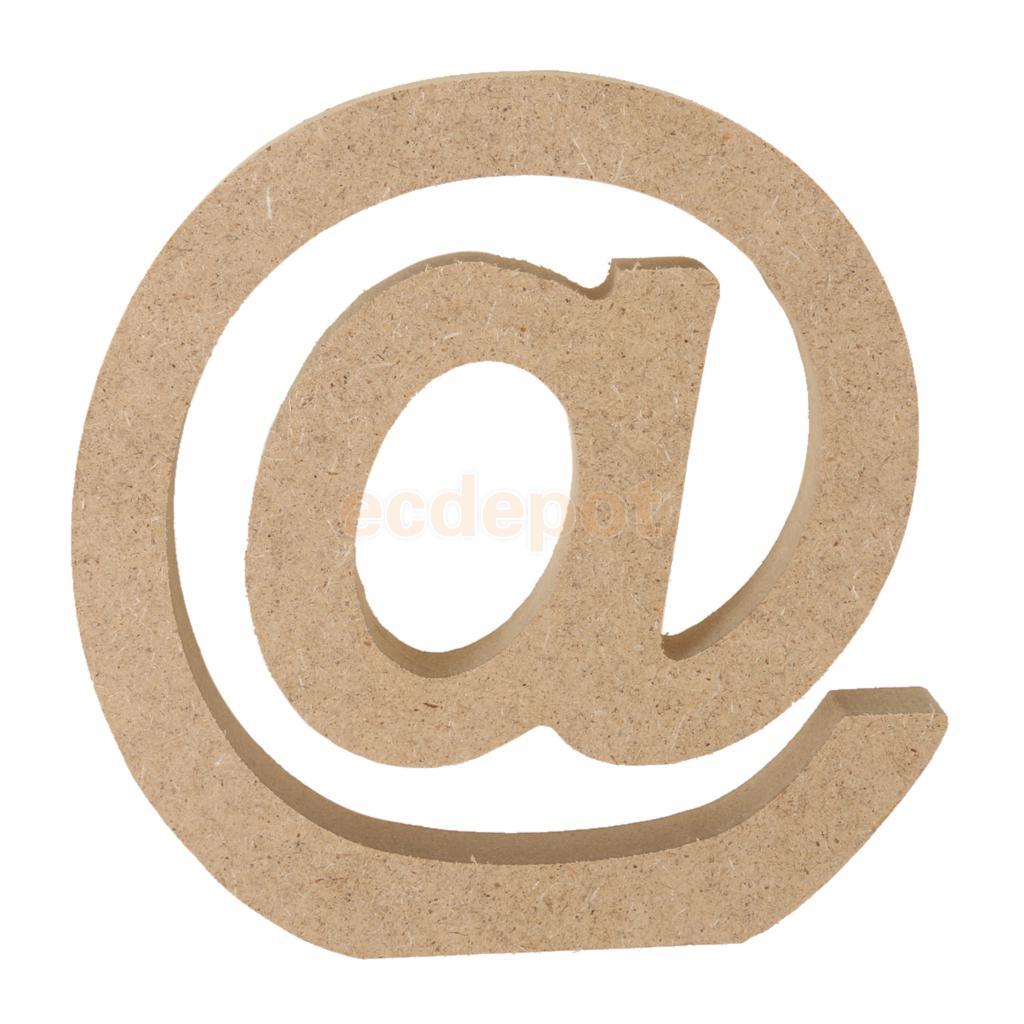 Holz Alphabet Handwerk Symbol Zeichen Plaque Wandbehang Hochzeit ...
