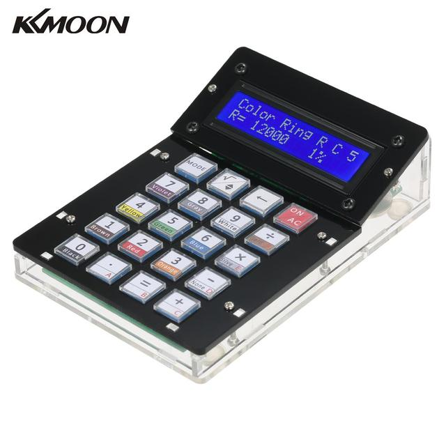 DIY Calculator Counter Kit Calculator DIY Kit LCD Multi-purpose Electronic Calculator Electronics Computing with Acrylic Case