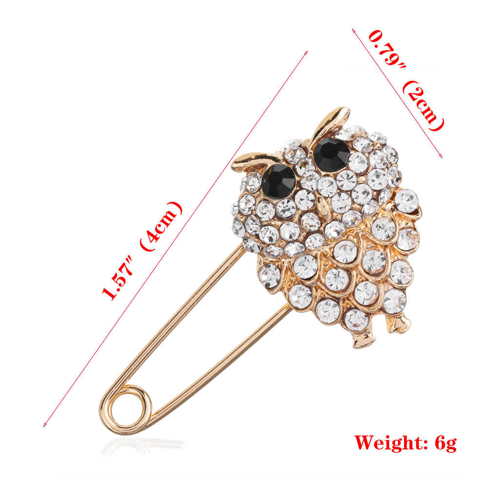 d24af6c9e2a ... 1Pcs Fashion Style Large Vintage Hijab Pins And Brooches For Women  Animal Pins Brooches Jewelry Broche