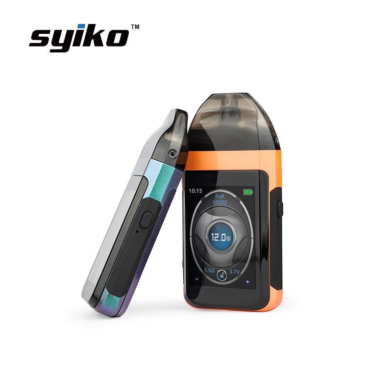 Cigarette électronique Touch Pod Vape Syiko SE Kit 650 mAh batterie intégrée avec 2 ml Pod cartouche Kit vaporisateur