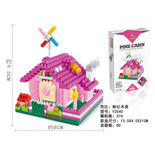 YZ Dream house blocks ego legoe star wars duplo lepin toys playmobil castle starwars orbeez figure doll car brick super