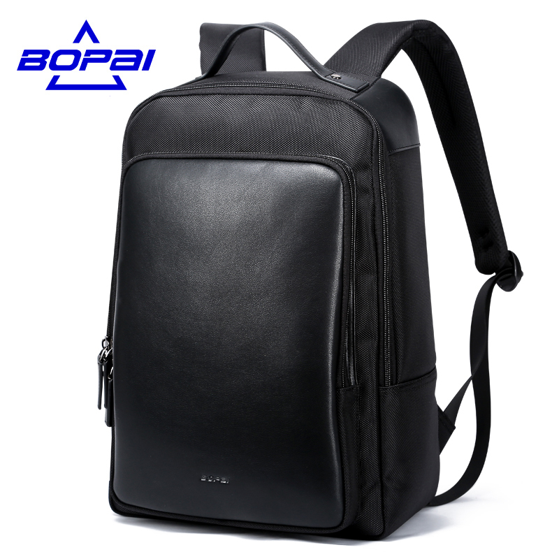 Men Backpack Luxury Brand Business Men's Laptop Backpack 15.6 Inch Notebook Bag Male Casual Daypack Black Backpack travel bag men 15 inch laptop business bag outdoor travel hiking backpack large capacity school daypack for tablet pc notebook computer