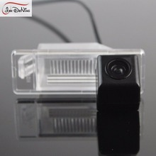 JanDeNing HD CCD Car Rear View Parking/Backup Reverse Camera/ License Plate Light OEM For Nissan X-Trail XTrail 2007-2012
