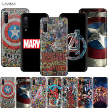 Lavazza Marvel bohater avengers obudowa do xiaomi Redmi Note 8 8A 7 6 6A 5 5A 4 4X 4A Go Pro Plus Prime(China)