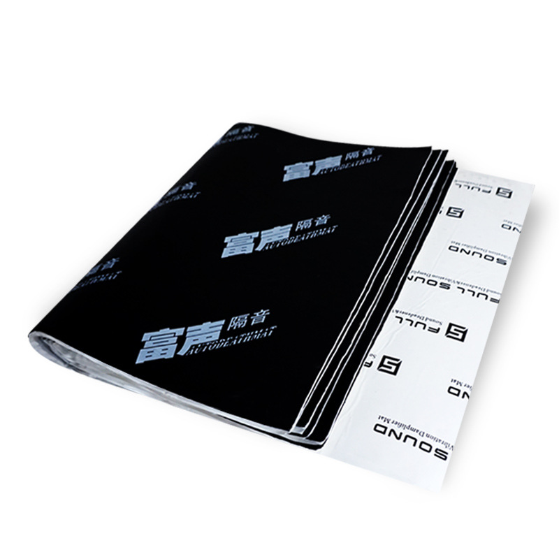 3 In 1 Deadening Car Sound Heat Insulation Cotton For Mat Noise Bonnet Hood Engine Firewall Heat Material Aluminum Foam Sticker