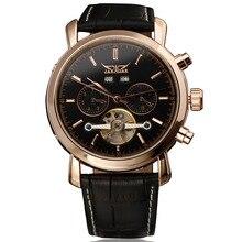 高品質腕時計カレンダートゥールビヨン自動日付ミリタリー機械式メンズ腕時計トップブランドの高級ゴールド自動腕時計