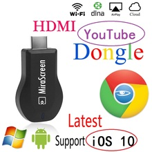 IOS Mirascreen OTA TV Adaptateur Dongle DLNA Miracast AirPlay Google Chromecast TV Bâton Sans Fil Wifi HDMI 1080 p Affichage Récepteur