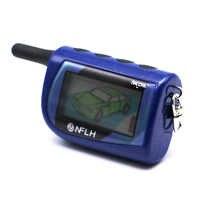 Scher-Khan Magicar 4 Two Way Car Alarm System Russian Version Sher Khan Magicar M4 Remote Scher Khan 4 Fob Chain Keychain
