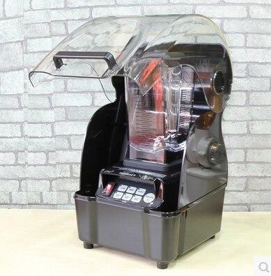 Low Noise 3HP JTC Omniblend TM-800AQ (Omni-Q) Quiet commercial professional bar smoothie blender Mixer Juicer with sound cover блендер для сухого молока 3hp 38000 2 jtc omniblend tm 800aq tm 800aq