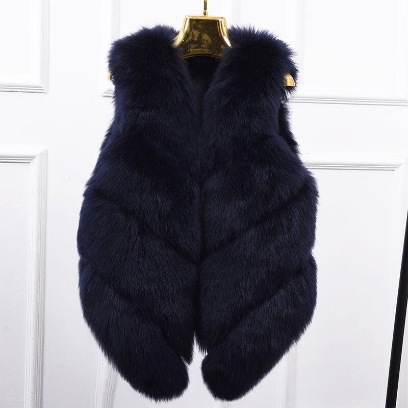Été Automne Femmes Limitée 2018 Manches Vente Version Sans Coréenne Chaude Ont Couture Section Manteau La Gilet Renard De Dans PvPpS