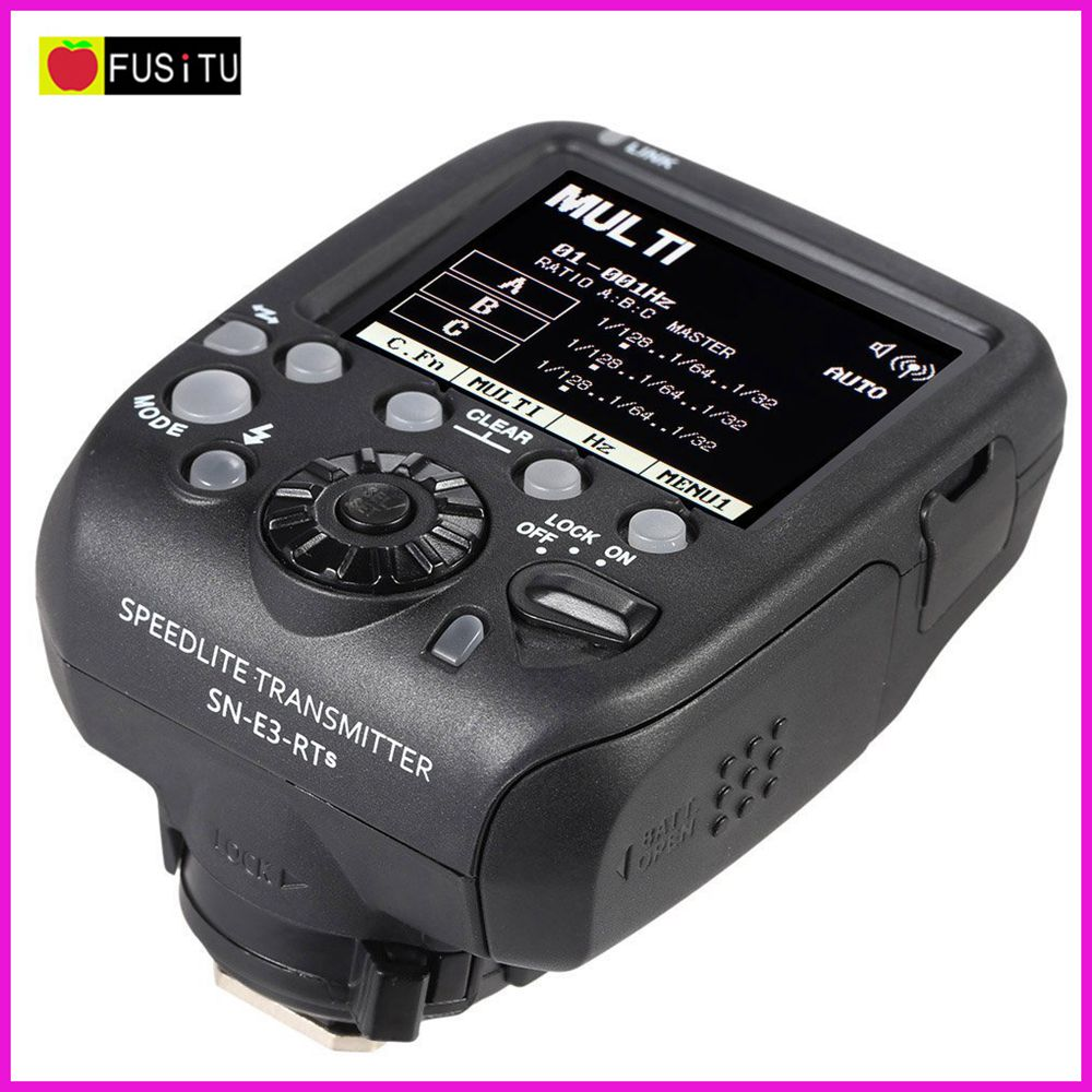 Shanny SN-E3-RTs Wireless Speedlite Transmitter Flash Trigger for Canon 600EX-RT Yongnuo YN600EX-RT SN600C-RT Flash Speedlite yongnuo yn e3 rt ttl radio trigger speedlite transmitter as st e3 rt for canon 600ex rt yongnuo yn600ex rt