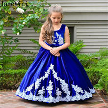 2b401b408c197 Royal Blue Flower Girl Dresses Promotion-Shop for Promotional Royal ...