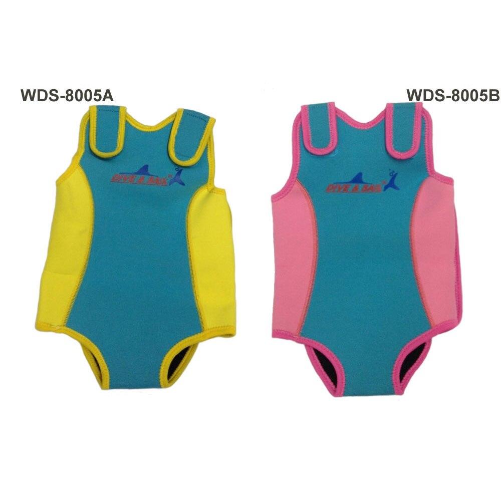 Kids Swimwear Neoprene Baby Snug Mini Wetsuit Dropshipping Wholesale Brand Dive & Sail