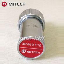 Mitech 4P F10 dia10 датчик дурального элемента для ультразвукового дефектоскопа зонда