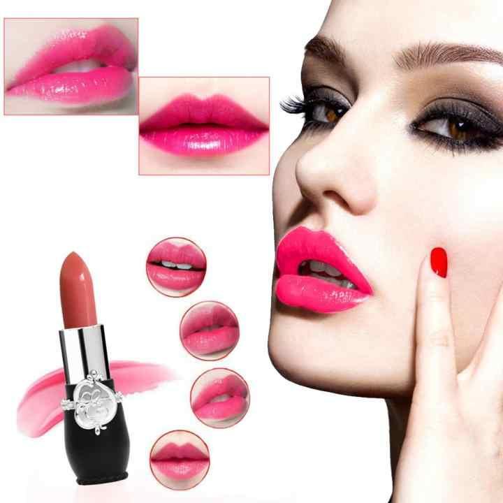 makeup matte lipstick waterproof long lasting velvet nude batom mate  lipstick sexy red Orange rouge lip 9cd286742e2e