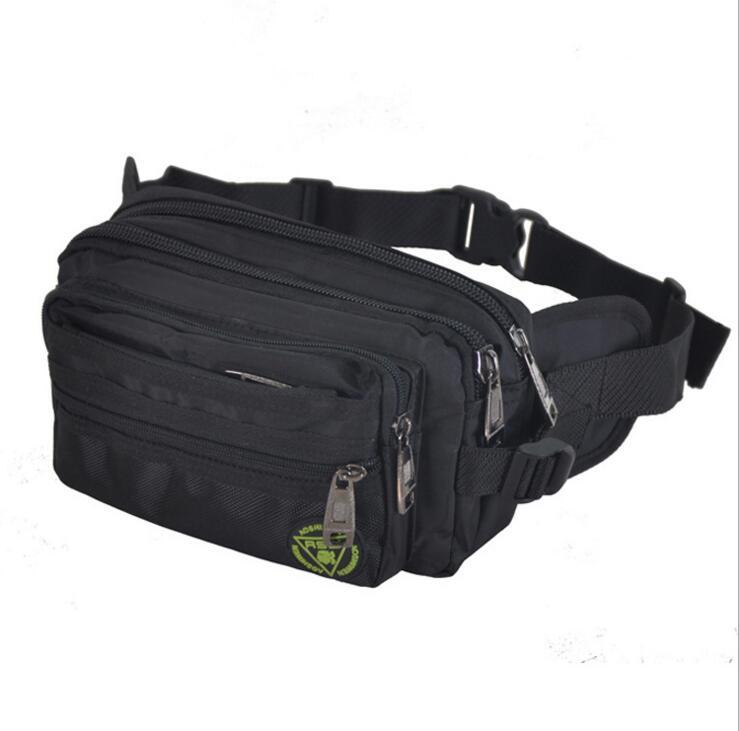 X-Online 032917 New Hot Unisex Women Men Waist Bag Cashing Bag