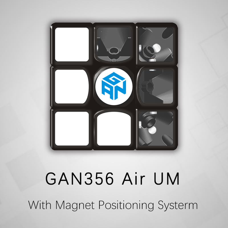 GAN356 Air UM Magic Cube 3x3x3 Magnetic Speed Cube Professional Educational Toys With Magnet Positioning Systerm for Children недорого