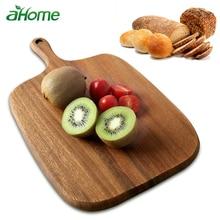 Natural Wooden Chopping Blocks Cutting Board Baking Tool Kitchen Tools Eco-friendly Environmental Cut Bread Mat