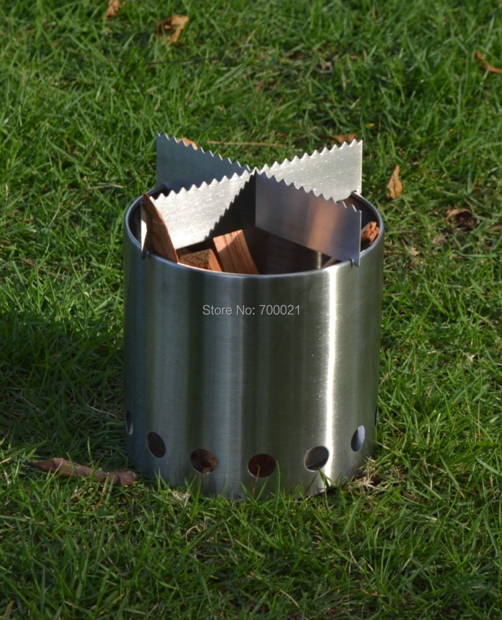 Wood Camping Stove | WB Designs