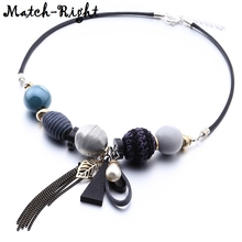 Women's Acrylic Beads Necklace for Women