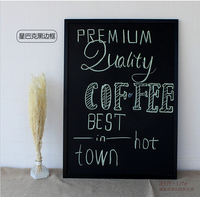 Free Shipping Double Sides Magnetic Blackboard Dry Eraser Wipe Board Office Supplier 40 60cm Factory Direct