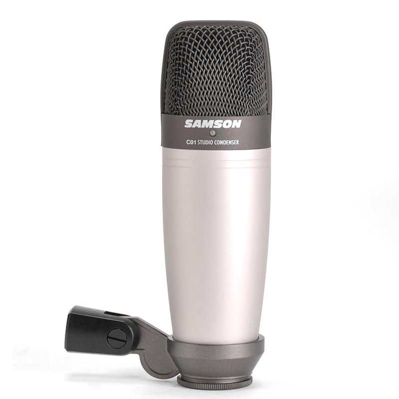 original samson c01 condenser microphone for recording vocals acoustic instruments and drum. Black Bedroom Furniture Sets. Home Design Ideas
