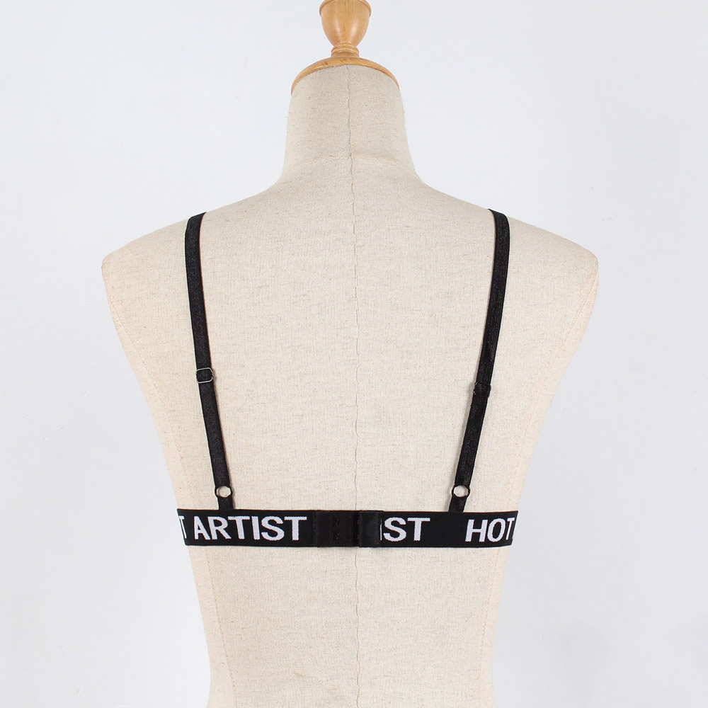 Sexy Bandage Bra Women Fashion Ladies Halter Elastic Cage Erotic Hollow Strappy Bralette Bustier Underwear Camis Crop Tops