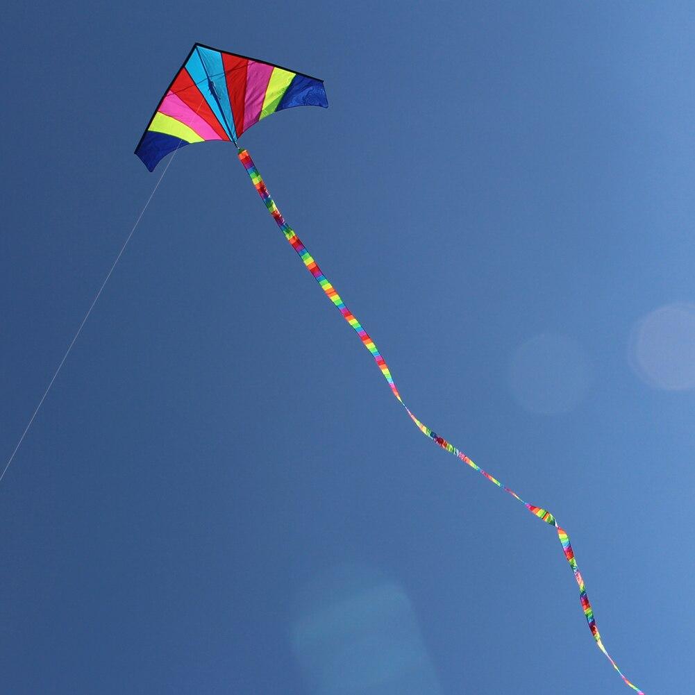 10 метров Радужный бар кайт хвост для Delta Kite Stunt Kite Kids Kite аксессуары игрушки красочные детские уличные забавные спортивные игрушки|kite tail|bar kitefun sport | АлиЭкспресс