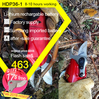 Electrical Pruning Shears HDP36 1 Free Shipping