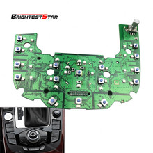 8T0919609F MMI Multimedia Circuit Board Interface Control Panel For Audi A4 S4 A5 S5 Coupe Q5 2008-2012 8T0 919 609F new 2g mmi multimedia interface control panel circuit board for audi a8 a8l s8 2003 2004 2005 2006 pvc and metal