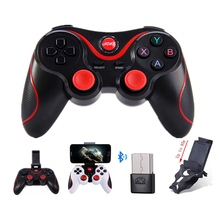 T3 Sensible Telephone Recreation Controller Wi-fi Joystick Bluetooth 3.Zero Android Gamepad Gaming Distant Management for cellphone PC tablets pk S3