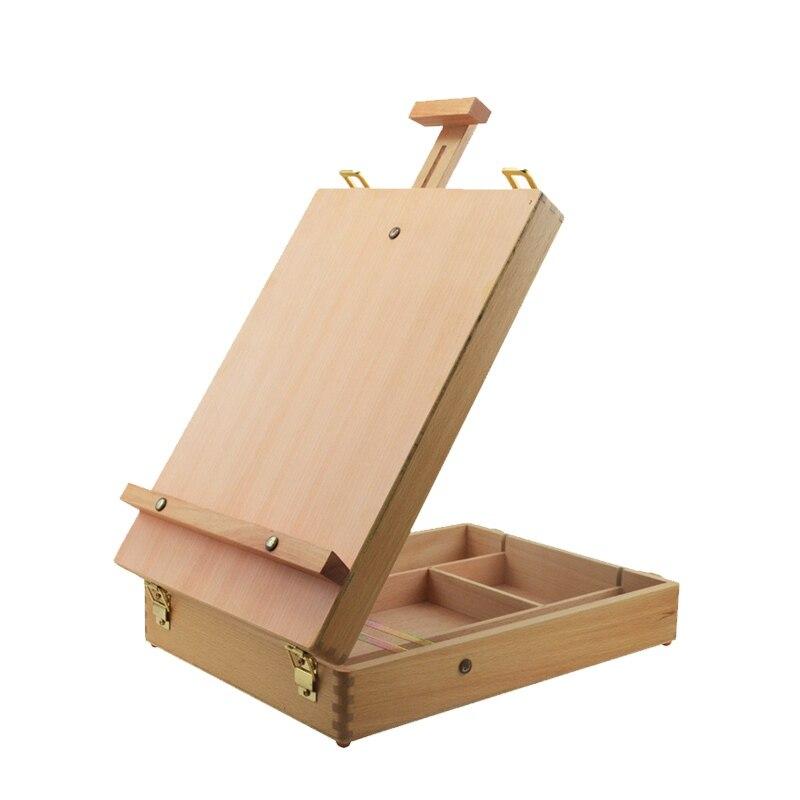 esboço cavalete desenho caixa pintura a óleo