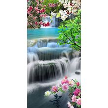 Waterfall DIY 5D Full Drill Diamond Painting Embroidery Cross Stitch Kit Rhinestone Mosaic Home Decor Craft